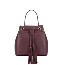 Tote bag, burgundy, 88-4E-934-2, Photo 1