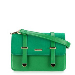 Torebka damska, zielony, 88-4Y-206-Z, Zdjęcie 1