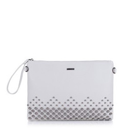 Clutch bag, grey, 88-4Y-213-8, Photo 1