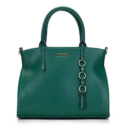 Tote bag, green, 88-4Y-403-Z, Photo 1