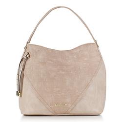 Hobo bag, beige, 88-4Y-409-0, Photo 1