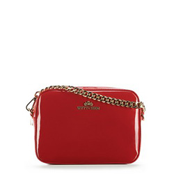 Cross body bag, red, 89-4-146-3, Photo 1