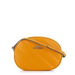 Torebka damska, żółty, 89-4-243-Y, Zdjęcie 1