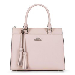 Tote bag, light pink, 89-4-404-P, Photo 1