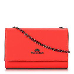Flap bag, red, 89-4-551-3, Photo 1