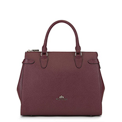 Tote bag, burgundy, 89-4E-410-2, Photo 1