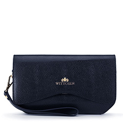 Clutch bag, navy blue, 89-4E-414-7, Photo 1
