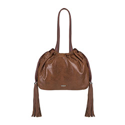 Shopper bag, brown, 89-4Y-353-5, Photo 1