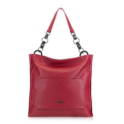 Shopper bag, red, 90-4E-369-3, Photo 1