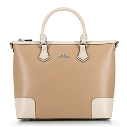 Tote bag, beige, 90-4E-610-9, Photo 1