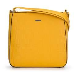 torebka damska, żółty, 90-4Y-606-Y, Zdjęcie 1