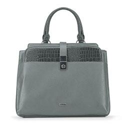 Tote bag, grey, 91-4Y-300-8, Photo 1