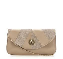 Clutch bag, beige, 84-4Y-802-0, Photo 1