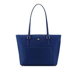 Кожаная сумка Wittchen 84-4E-424-7, синий 84-4E-424-7