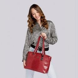 Shopper bag, red, 15-4-325-3, Photo 1