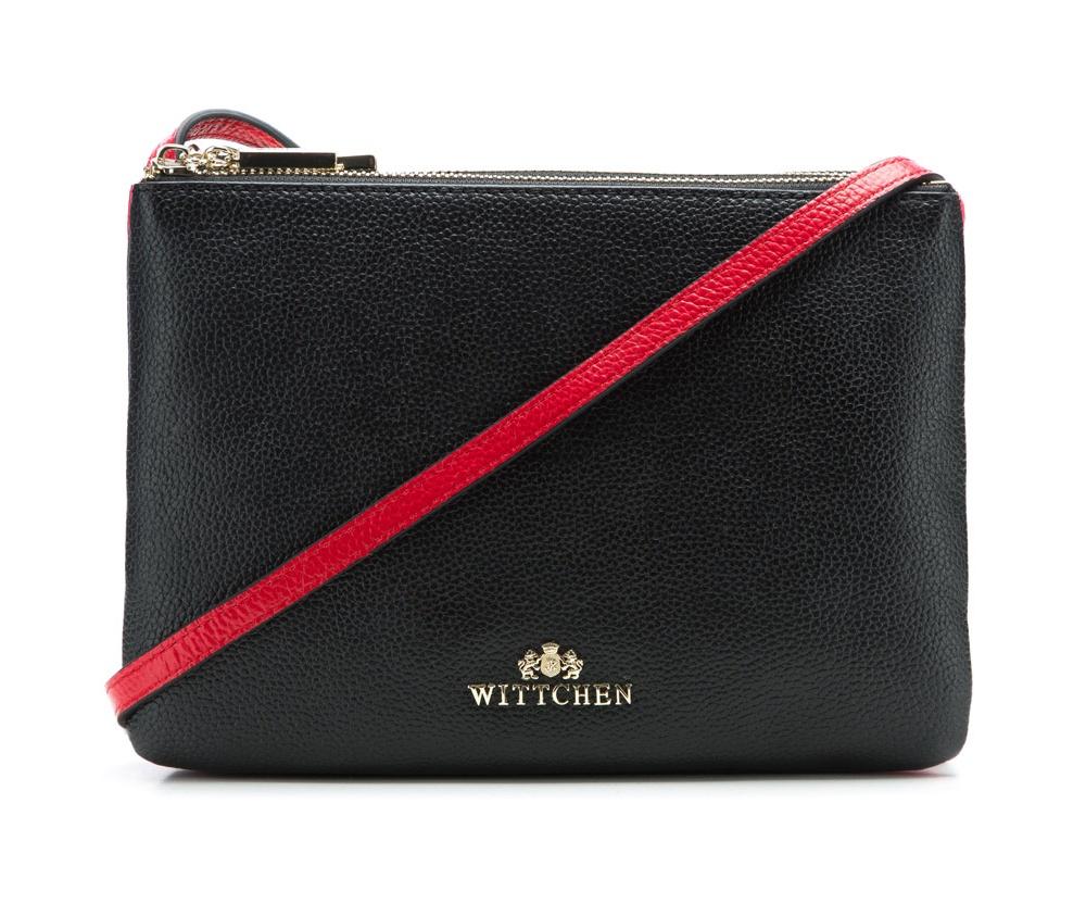 Женская сумкаЖенская сумка из коллекции Elegance.&#13;<br>3 отделения застегиваются на молнию. Внутри одной из них карман на молнии. Возможность ругулирования длины ремня.<br><br>секс: женщина<br>Цвет: черный<br>материал:: Натуральная кожа<br>длина плечевого ремня (cм):: 107 - 118<br>высота (см):: 17<br>ширина (см):: 24<br>глубина (см):: 4