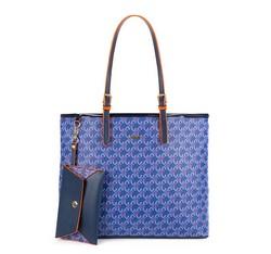 Женская сумка из экокожи Wittchen 84-4Y-100-7, голубой 84-4Y-100-7