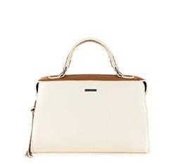 Женская сумка из экокожи Wittchen 84-4Y-107-05, кремовый 84-4Y-107-05
