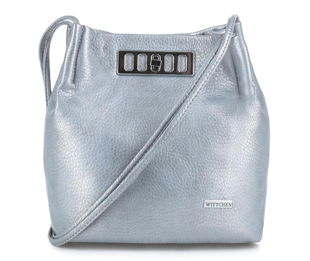 Женская сумка из экокожиОсновное отделение закрывается на магнитную застежку. Внутри карман с застежкой-молнией, открытый карман для мелких предметов и место на мобильный телефон<br><br>секс: женщина<br>Цвет: серый<br>материал:: Экокожа<br>описание материала :: глянцевый<br>тип:: через плечо<br>высота (см):: 22<br>ширина (см):: 22<br>глубина (см):: 13<br>вмещает формат А4: нет<br>вес (кг):: 0.2