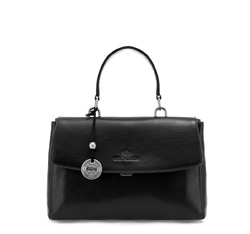 Flap bag, black, 35-4-055-1, Photo 1