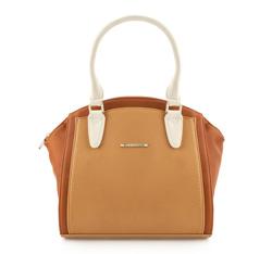 Женская сумка из экокожи Wittchen 84-4Y-417-9X, светло-коричневый 84-4Y-417-9X