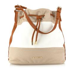 Женская сумка Wittchen 84-4Y-422-5X, бело-коричневый 84-4Y-422-5X