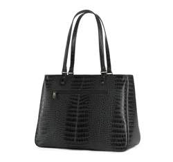Shopper bag, black, 15-4-324-1, Photo 1