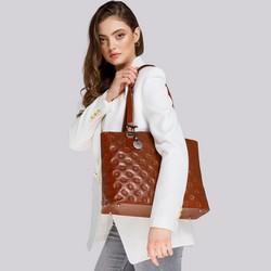 Tote bag, brown, 33-4-101-5L, Photo 1