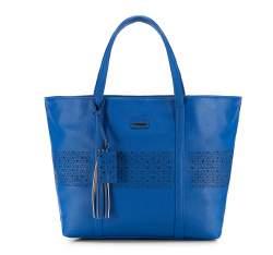 Torebka damska, niebieski, 82-4Y-605-7, Zdjęcie 1