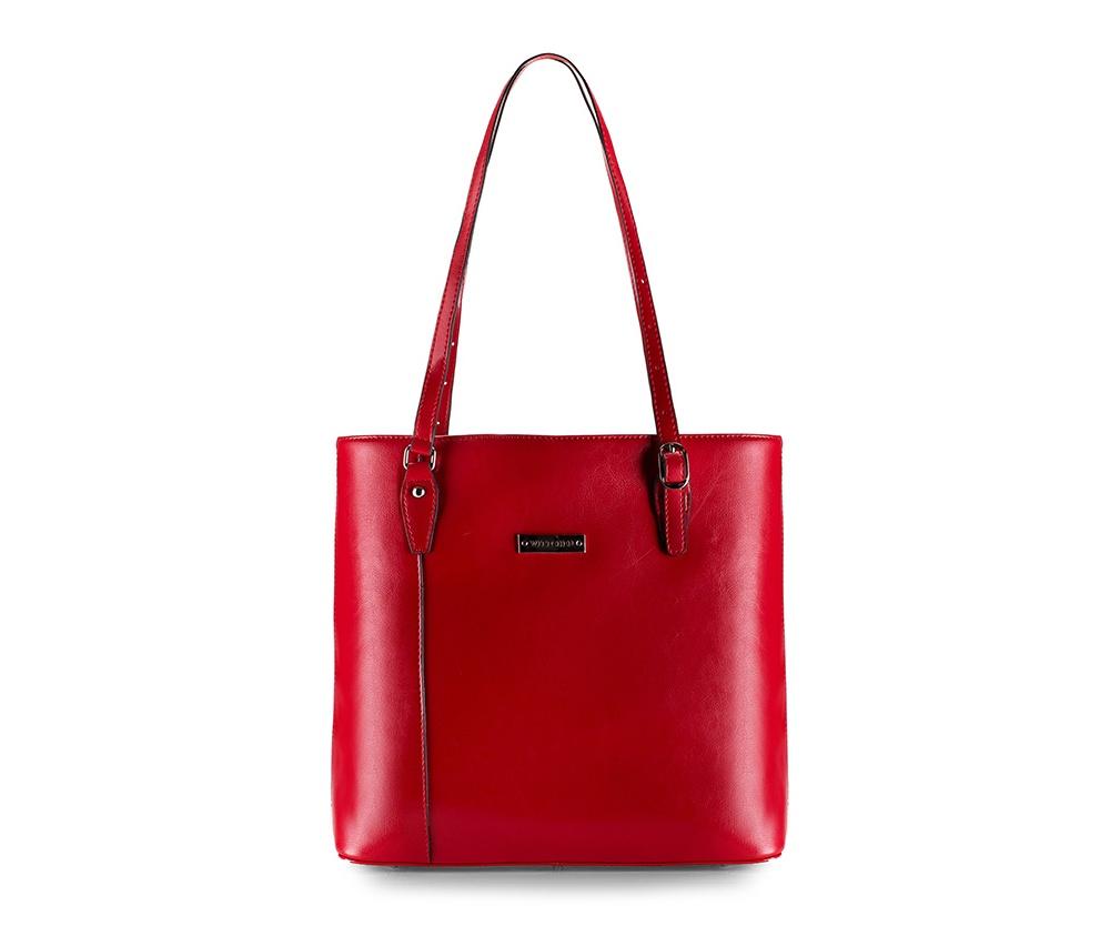 Женская сумка Wittchen 81-4E-490-3, красныйЖенская сумка из коллекции Elegance Осень / Зима 2015 - 2016Основное отделение на молнии.Внутри отделения на молнии и для мобильного телефона, открытый карман для мелких предметов. На обратной стороне отделение на молнии.  Дно сумки защищено металлическими ножками.<br><br>секс: женщина<br>материал:: натуральная кожа<br>высота (см):: 30<br>ширина (см):: 36 - 39<br>глубина (см):: 12.5<br>общая высота (см):: 53 - 60
