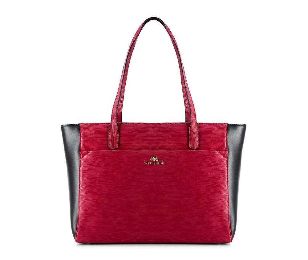 Купить Женская сумка Wittchen 81-4E-433-3, красно-черный, Германия, красный