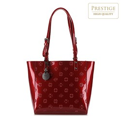Shopper bag, red, 34-4-001-3L, Photo 1
