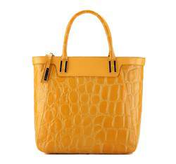 Torebka damska, żółty, 78-4-124-Y, Zdjęcie 1