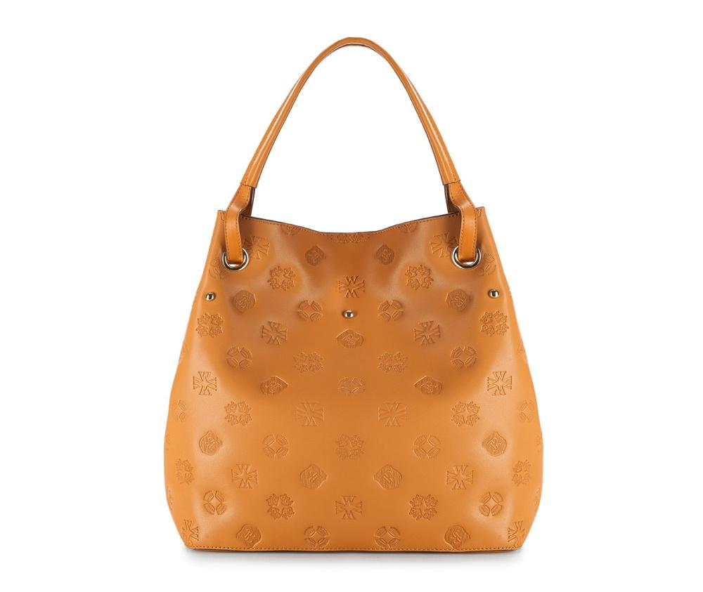 Женская сумкаЖенская сумка из коллекции Elegance&#13;<br>Основной отдел застегивается на магнитную застежку.Внутри2 карманана молнии, открытый карман для мелких предметов и отделение для мобильного телефона.&#13;<br>Дополнительно прилагается съемный, регулируемый ремешок.<br><br>секс: женщина<br>Цвет: коричневый<br>материал:: Натуральная кожа<br>длина плечевого ремня (cм):: 105 - 118<br>высота (см):: 32<br>ширина (см):: 32 - 45<br>глубина (см):: 16.5<br>иное :: поместит формат А4<br>общая высота (см):: 47<br>длина ручки/ек (см):: 40
