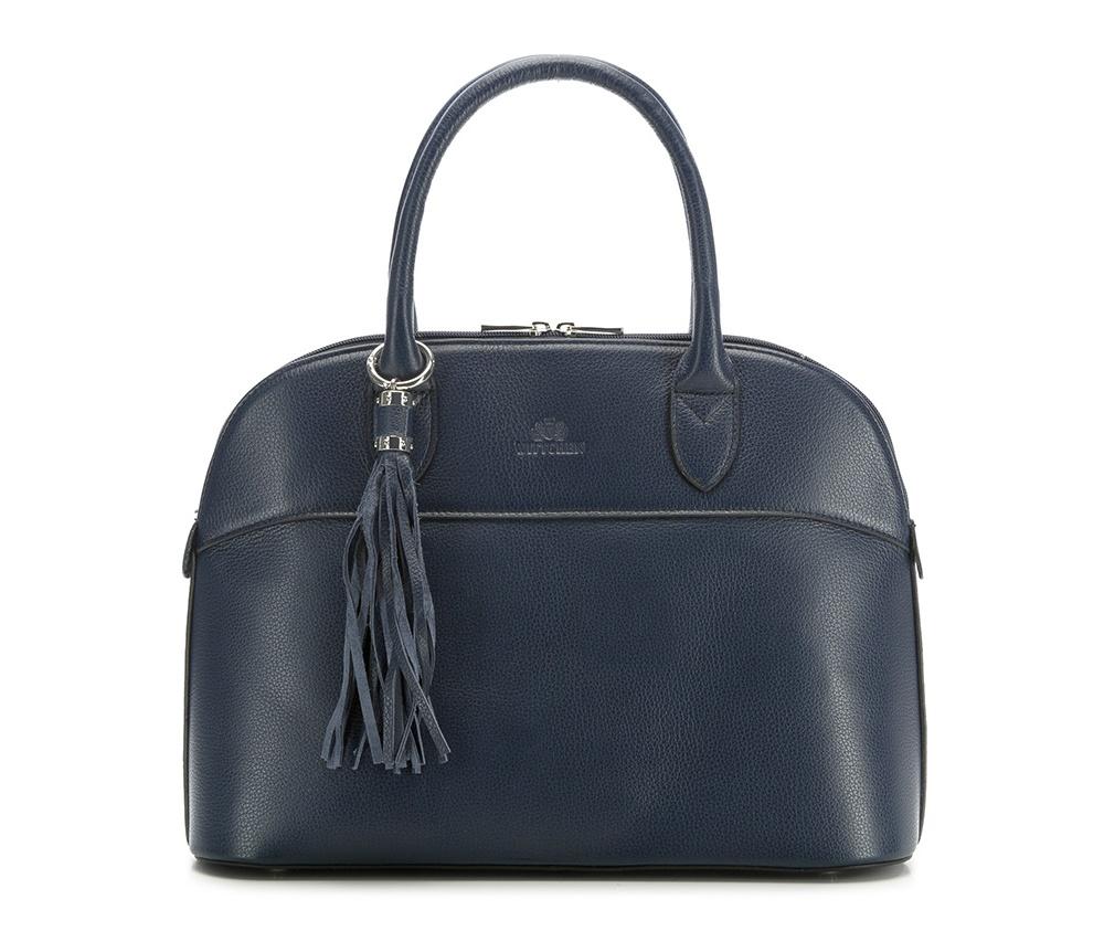 Женская сумкаЖенская сумка из коллекции Elegance&#13;<br>Основной отдел застегивается на молнию.Внутри карман на молнии, открытый карман для мелких предметов и отделение для мобильного телефона. С тыльной стороны   карман на молнии. &#13;<br>Дно сумки защищено металлическими  ножками. Дополнительно прилагается съемный, регулируемый ремень.<br><br>секс: женщина<br>вмещает формат А4: поместит формат А4<br>материал:: Натуральная кожа<br>размер:: 109<br>длина плечевого ремня (cм):: 27<br>высота (см):: 37<br>ширина (см):: 13.5<br>общая высота (см):: 40<br>длина ручки/ек (см):: 43