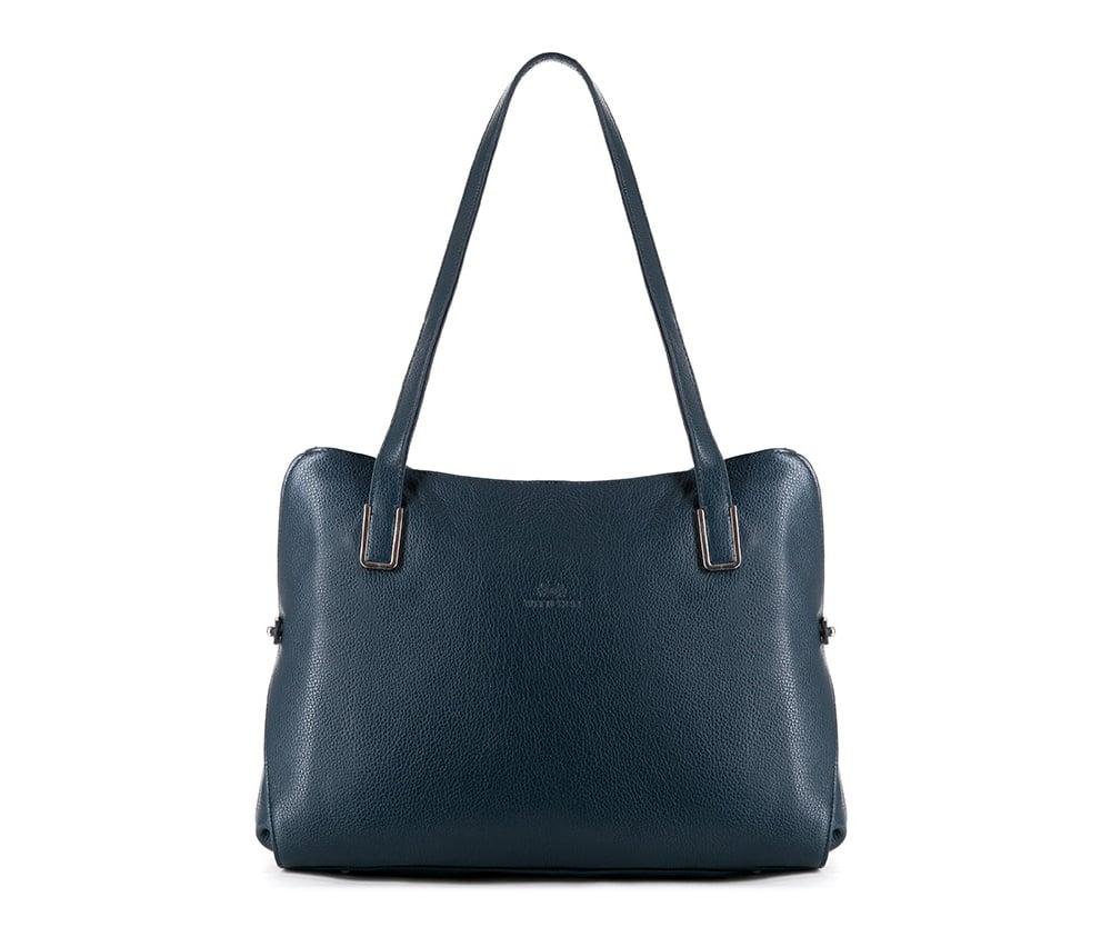 Женская сумкаЖенская сумка из коллекции Elegance&#13;<br>Основной отдел застегивается на молнию, разделен карманом на молнии.Внутри карман на молнии, открытый карман для мелких предметов и отделение для мобильного телефона. С тыльной стороны   карман на молнии.<br><br>секс: женщина<br>вмещает формат А4: поместит формат А4<br>материал:: Натуральная кожа<br>высота (см):: 26<br>ширина (см):: 31 - 35<br>глубина (см):: 11<br>общая высота (см):: 52<br>длина ручки/ек (см):: 67