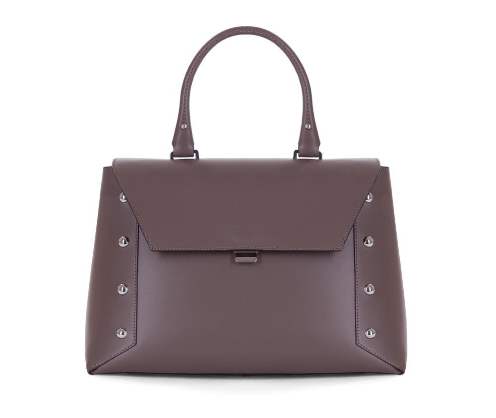 Женская сумка Wittchen 83-4E-007-5, коричневыйоткрытый карман для мелких предметов и отделение для мобильного телефона<br><br>секс: женщина<br>Цвет: коричневый<br>материал:: Натуральная кожа<br>высота (см):: 22<br>ширина (см):: 29 - 32<br>глубина (см):: 12<br>общая высота (см):: 36<br>длина ручки/ек (см):: 34