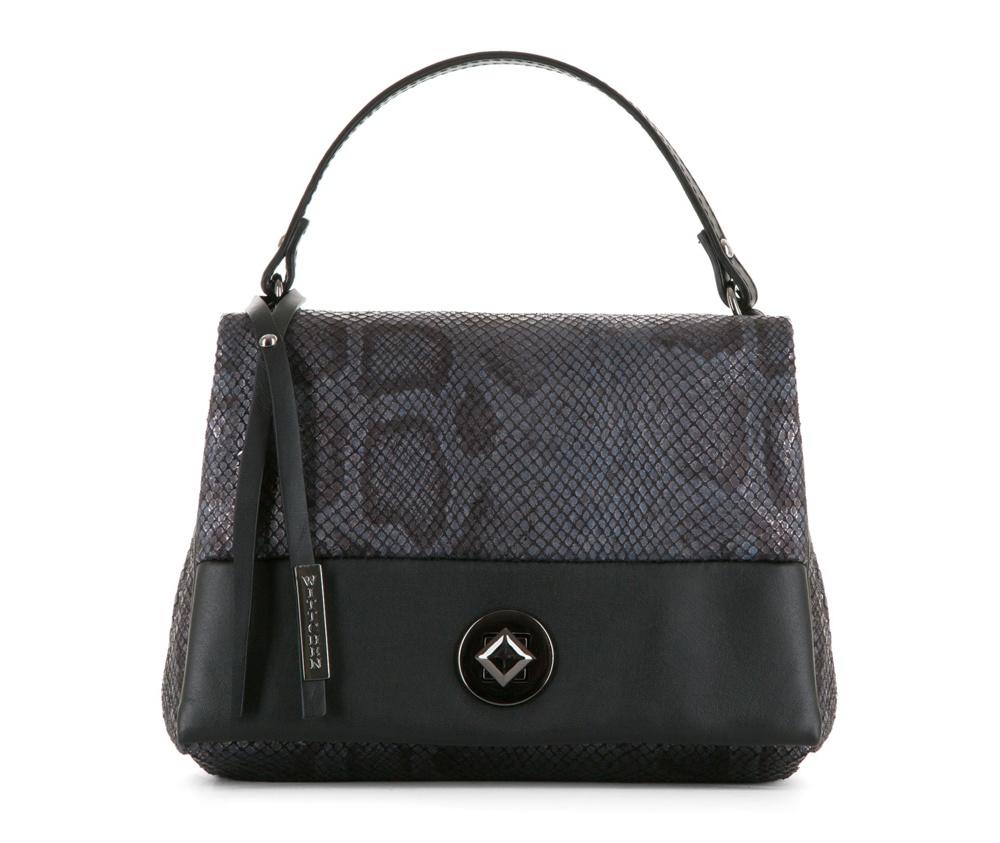 Женская сумкаЖенская сумка из коллекции Elegance&#13;<br>Открытое основное  отделение, внутри карман на молнии. Сумка закрывается клапаном на  металлическую застежку.. Дополнительно съемный, регулируемый плечевой  ремень.<br><br>секс: женщина<br>Цвет: серый<br>материал:: Натуральная кожа<br>длина плечевого ремня (cм):: 119 - 131<br>высота (см):: 17<br>ширина (см):: 22<br>глубина (см):: 7<br>общая высота (см):: 28<br>длина ручки/ек (см):: 29
