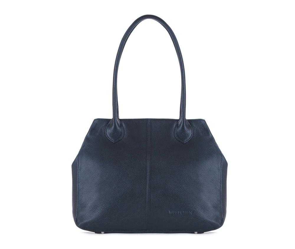 Женская сумкаЖенская сумка из коллекции Elegance&#13;<br>Основной отдел застегивается на молнию.Внутри карман на молнии, открытый карман для мелких предметов и отделение для мобильного телефона. С тыльной стороны карман на молнии. Дно сумки защищено металлическими ножками.<br><br>секс: женщина<br>вмещает формат А4: поместит формат А4<br>материал:: Натуральная кожа<br>высота (см):: 29<br>ширина (см):: 35 - 47<br>глубина (см):: 12<br>общая высота (см):: 54<br>длина ручки/ек (см):: 63