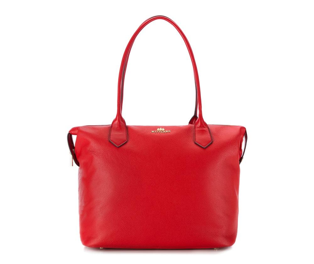 Женская сумкаЖенская сумка из коллекции Elegance 2016&#13;<br>Основной отдел     застегивается на молнию. Внутри два отделения на    молнии, открытый   карман для     мелких предметов и отделение для    мобильного телефона.  На  тыльной  стороне отделение на молнии. Дно сумки   защищено    металлическими   ножками.<br><br>секс: женщина<br>материал:: натуральная кожа<br>высота (см):: 32<br>ширина (см):: 36 - 47<br>глубина (см):: 18<br>общая высота (см):: 57<br>длина ручки/ек (см):: 70