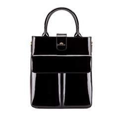 Shopper bag, black, 25-4-528-1, Photo 1