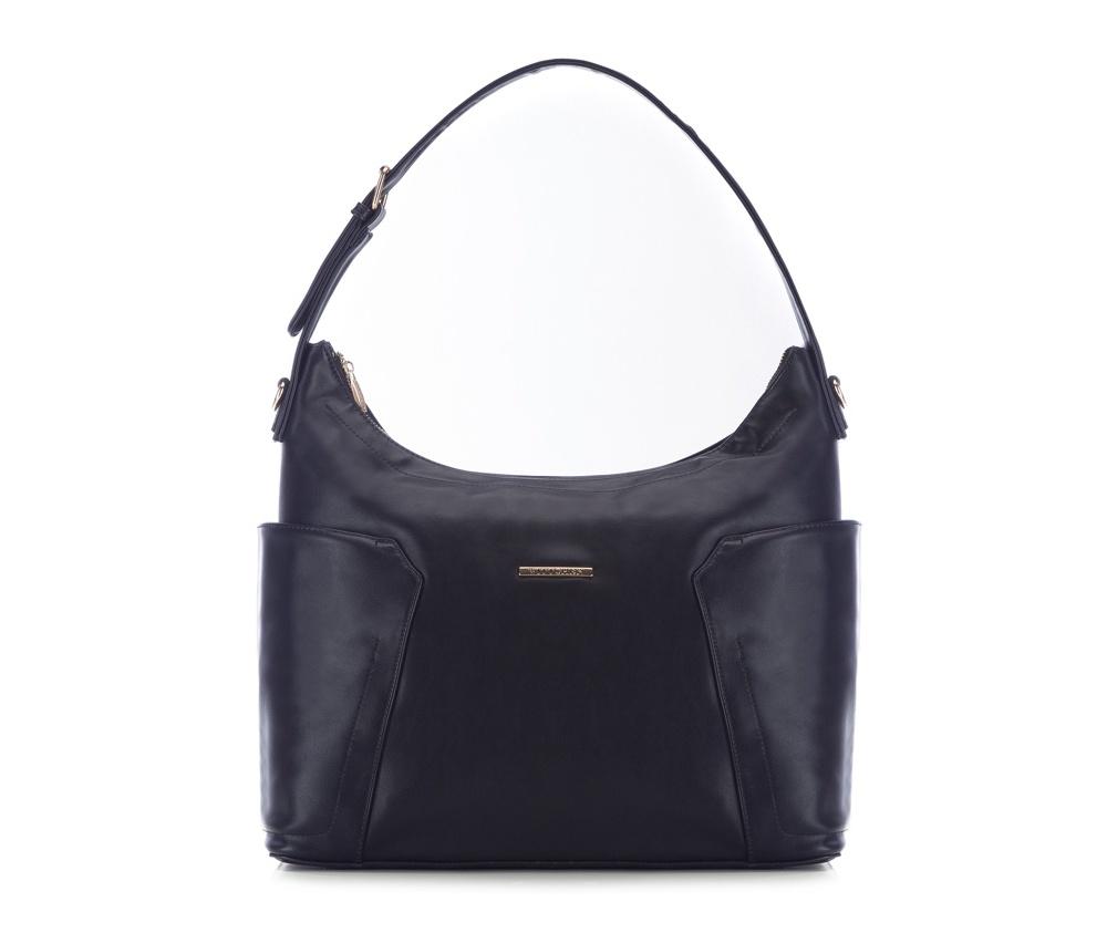 Женская сумкаЖенская сумка из коллекции E-BAG&#13;<br> E-BAG представляет собой сочетание классического стиля и современных решений. Кроме того, интересные цвета подкладки придает сумке оригинальный вид.&#13;<br>Внутри специальные перегородки  для аксессуаров, которые позволяют сохранить порядок внутри сумки.  &#13;<br>Основное отделение закрывается на молнию. Внутри  карман для устройств с максимальными размерами: 24 см x 35 см, карман на  молнии, отделение для мобильного телефона, карман для наушников, 2  места для ручек и карман для элементов питания. &#13;<br>По бокам два  открытых кармана для мелких предметов.Дополнительно прилагается съемный, регулируемый ремень.<br><br>секс: женщина<br>Цвет: синий<br>материал:: Экокожа<br>ширина (см):: 38<br>высота (см):: 29<br>глубина (см):: 13.5<br>размер:: поместит формат А4<br>длина ручки/ек (см):: 63 - 71