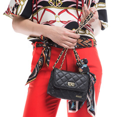 Женская сумка из экокожи Wittchen 84-4Y-113-1, черный 84-4Y-113-1