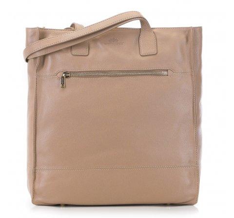 Женская кожаная сумка-шоппер 91-4E-301-9