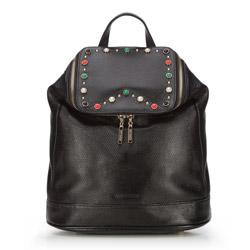Plecak damski, czarny, 86-4E-350-1, Zdjęcie 1
