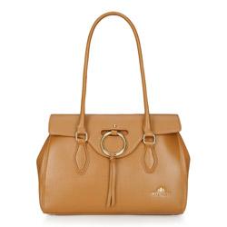 Tote bag, light brown, 86-4E-380-5, Photo 1