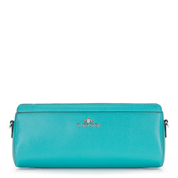 Clutch bag, turquoise, 86-4E-427-Z, Photo 1
