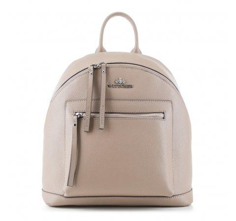 Plecak damski, beżowy, 88-4E-411-9, Zdjęcie 1