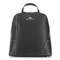Plecak damski, czarny, 88-4E-422-1, Zdjęcie 1