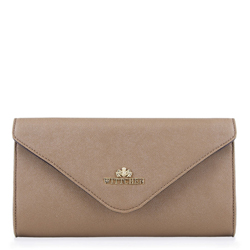 Clutch bag, dark beige, 88-4E-430-5, Photo 1